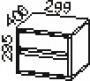 Ящики к шкафу 83ШГ01, 83ШД03